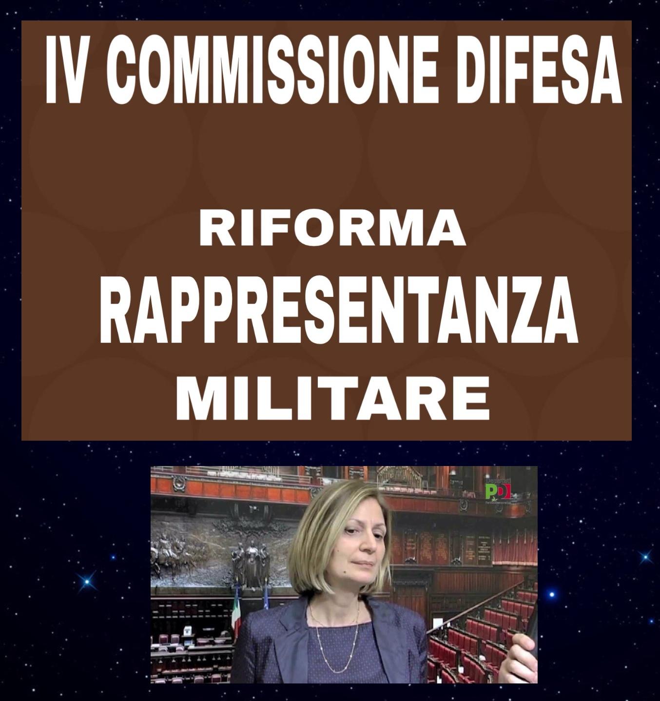 La quarta commissione difesa chiama le rappresentanze for Commissione difesa camera